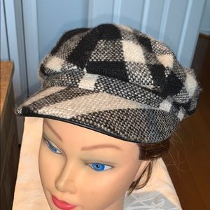 Burberry Woman's Wool Cap